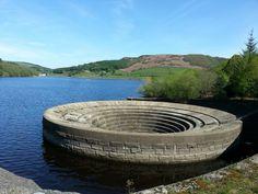Ladybower reservoir overflow plug hole