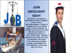 If you are Unemployed Looking for job,Join Merchant navy with 100% Tax free Income with yearly Increments, Merchant navy a way to become CAPTION, A way to become Dollars earning men alaks earning men just in few years.We have all type of jobs available for Cruise ships,Cargo ships,Oil tanker ships,Container ships For Course or admission fill online form at Website:- www.greatwayshippingservices.com  or for  Email to greatwaymerchantnavy@gmail.com