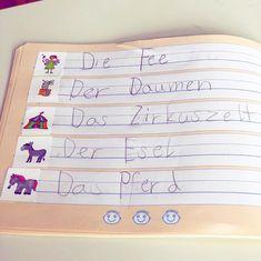 """Lehrerin ✨ auf Instagram: """"Werbung: Weil meine Kinder letzte Woche super motiviert Wörter anhand dieser Bildkarten geschrieben haben, habe ich jedem Kind ein Säckchen…"""" Super, School, Instagram, Pictorial Maps, Teachers, First Grade, Writing, Advertising, Deutsch"""