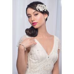 'Riley' Lace & Diamonte Bridal Hairpiece – Roman & French - Leader in Bridal Jewellery, Wedding Hair Accessories, Bridesmaids Dresses and Wedding Gifts. Bridal Comb, Hair Comb Wedding, Headpiece Wedding, Wedding Veil, Bridal Headpieces, Wedding Gifts, Bridal Robes, Bridal Dresses, Loose Hairstyles