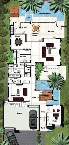 Related Atlas 600 floorplan by Gala Homes