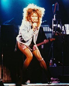 "Tina Turner ""Whats Love Got to Do With It"" 1985; I LOVED her & I wanted her hair!!"