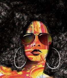 Natural Hair Art   Sista*curl