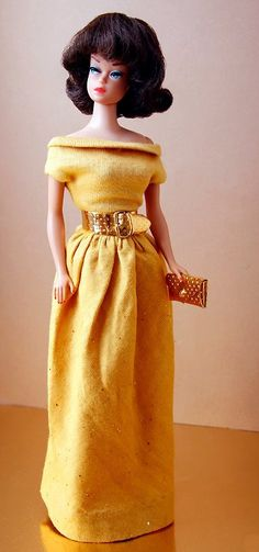 "Fashion Queen in ""Golden Evening"" 1964 (credit:Tito CFDolls)"