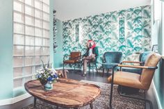 Love my dentists wallpaper 🌱 My Dentist, Angst, Zurich, Your Smile, Branding Design, Dining Table, Interior Design, Studio, Furniture