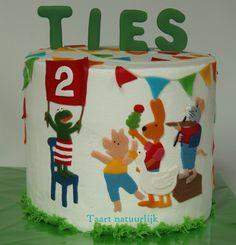 cake Kikker double barrel children party