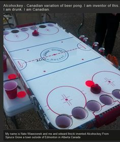 Best drinking game ever?  Oh, this is what we should have done with ours when the boy got tired of it!