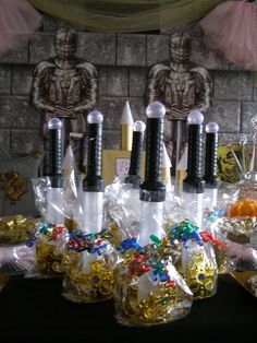 Best Selling Boys Party Favors. Flashing Sword and Gold Crown Favor. Affordable Fun from My Princess Party to Go. #birthdaypartyfavors