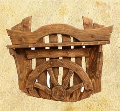 Вешалка под старину Пират