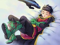 Nightwing. Robin.