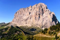 Sass long, Dolomites in Italy by Angelo Ferraris