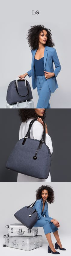 "The OG & OMG are a functional and lightweight carry-all designed for high-quality material for the modern traveler.   Features a side pocket to store your gym shoes or umbrella, suitcase handle sleeve, key leash, and plenty of pockets for optimal organization.   Both OG and OMG are designed to fit up to a 13"" laptop.   See what fits inside."