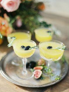 Romantic Bridal inspiration in Citrus Tones