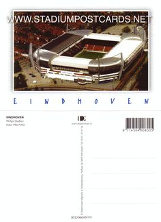 € 2,50 - code : NED-001 - EINDHOVEN - Philips - stadium postcard cartolina stadio carte stade estadio tarjeta postal