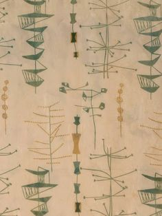 Vintage fabrics designed by Lucienne Day