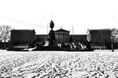 Art Museum in the Snow #Philly