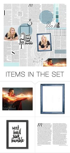 """""""Wibbly wobbly, timey wimey... stuff."""" by my-heart-is-art ❤ liked on Polyvore featuring art and YASSgroupsets"""