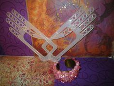Pink RockCandy Cuff by craftybabydoll on Etsy, $10.00