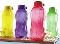 Tupperware Water Bottles - Set Of 4 (1 Liter Each) Rs.475