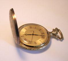 Vintage pocket watch. Timex. Wind up