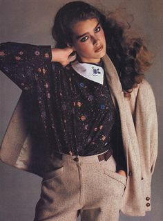 They knew how to power-dress. | 45 Reasons Why Supermodels Were Better In The '80s, Brooke Shields...