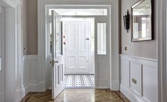 painted edwardian wood panelling | Woodmarque exceptional architectural joinery and furniture, Northern ...