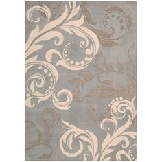 @Overstock - Primary Materials: Polyester Pile height: 0.75 inches  Style: Casual http://www.overstock.com/Home-Garden/Hand-tufted-Silver-Cosmopolitan-Rug-36-x-56/6201395/product.html?CID=214117 $111.99