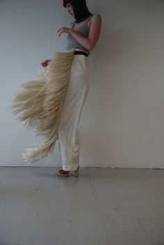 Isobel and Cleo fringe trousers