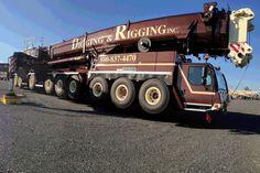 Digging & Rigging Liebher LTM 1750 Via : www.digrig.com/