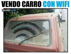 vendo coche con wifi