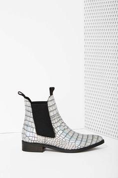 Miista Sandra Leather Chelsea Boot- Nasty Gal