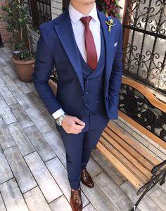 Skinny écarlate rouge homme slim plain cravate cravate 1ST gratuit envoi