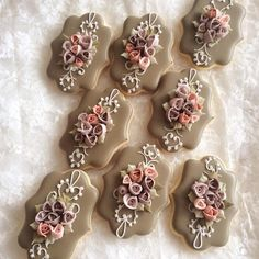 #2 Bouquet Cookies by littlesugar