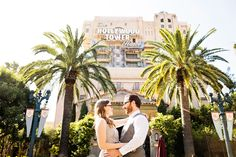 If you're a fan of the Tower of Terror don't miss this location during your Disneyland portrait session