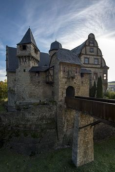 Upper Castle - Renaissance - Kranichfeld, Thuringia ~ Germany -: