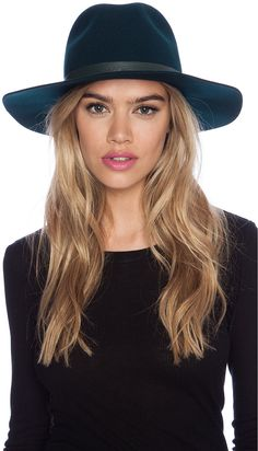 1bb7a857c77 Janessa Leone Lola Hat in Camel