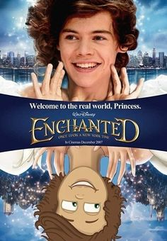 Harry in Enchanted???????????