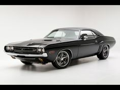 Cool Sport Muscle Car | 1971-Dodge-Challenger-RT-Muscle-Car-By-Modern-Muscle-Side-Angle ...