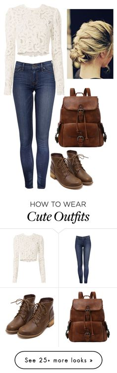 """""""Cute Outfit"""" by maddieandmaddy on Polyvore featuring A.L.C."""