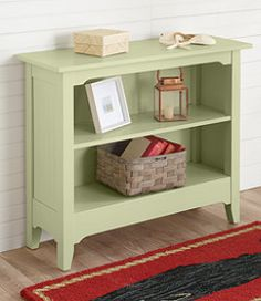 #LLBean: Painted Cottage Bookcase