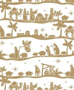 "Nativity Gold Gift Wrap Flat Sheet 24"" X 6' - Holiday Gift Wrapping Paper Premium Gift Wrap http://www.amazon.com/dp/B015ZSKYTI/ref=cm_sw_r_pi_dp_Jb1Dwb0ZDR7XN"