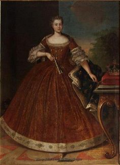 Marie Leszczyńska, Queen of France, date unknown.