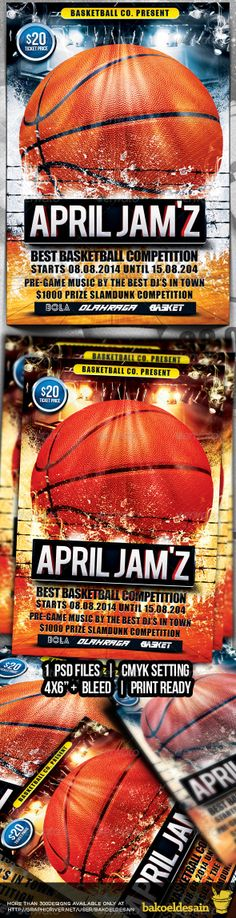 Basketball Flyer | Design Away | Pinterest | Logos