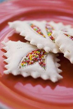 sprinkle cookies, pretty.