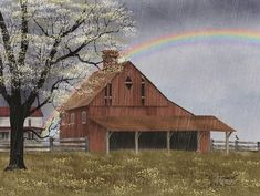 Billy Jacobs His Promise Country Church Art Print Country Barns, Old Barns, Country Primitive, Country Homes, Country Decor, Billy Jacobs Prints, Barn Pictures, Wall Decor Pictures, Nostalgic Art