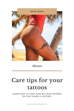 We tell you abour the main tips to get your tattoo full color for a lifetime!  #tattoo #tattoocare #skincare #skinwithtattoos #howtotakecareofatattoo