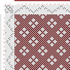 Hand Weaving Draft: Page 131, Figure 52, Donat, Franz Large Book of Textile Patterns, 8S, 8T - Handweaving.net Hand Weaving and Draft Archiv...