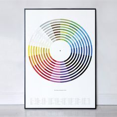 Colour of Popular Music, Each color named with a song title. Love this!   $45, now featured on Fab.