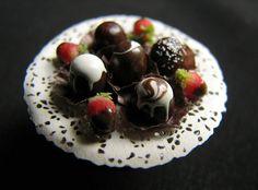 Miniature Chocolate Truffles
