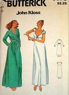 Vintage 1970's John Kloss Butterick 6370 by MemoryMadeMercantile, $7.00